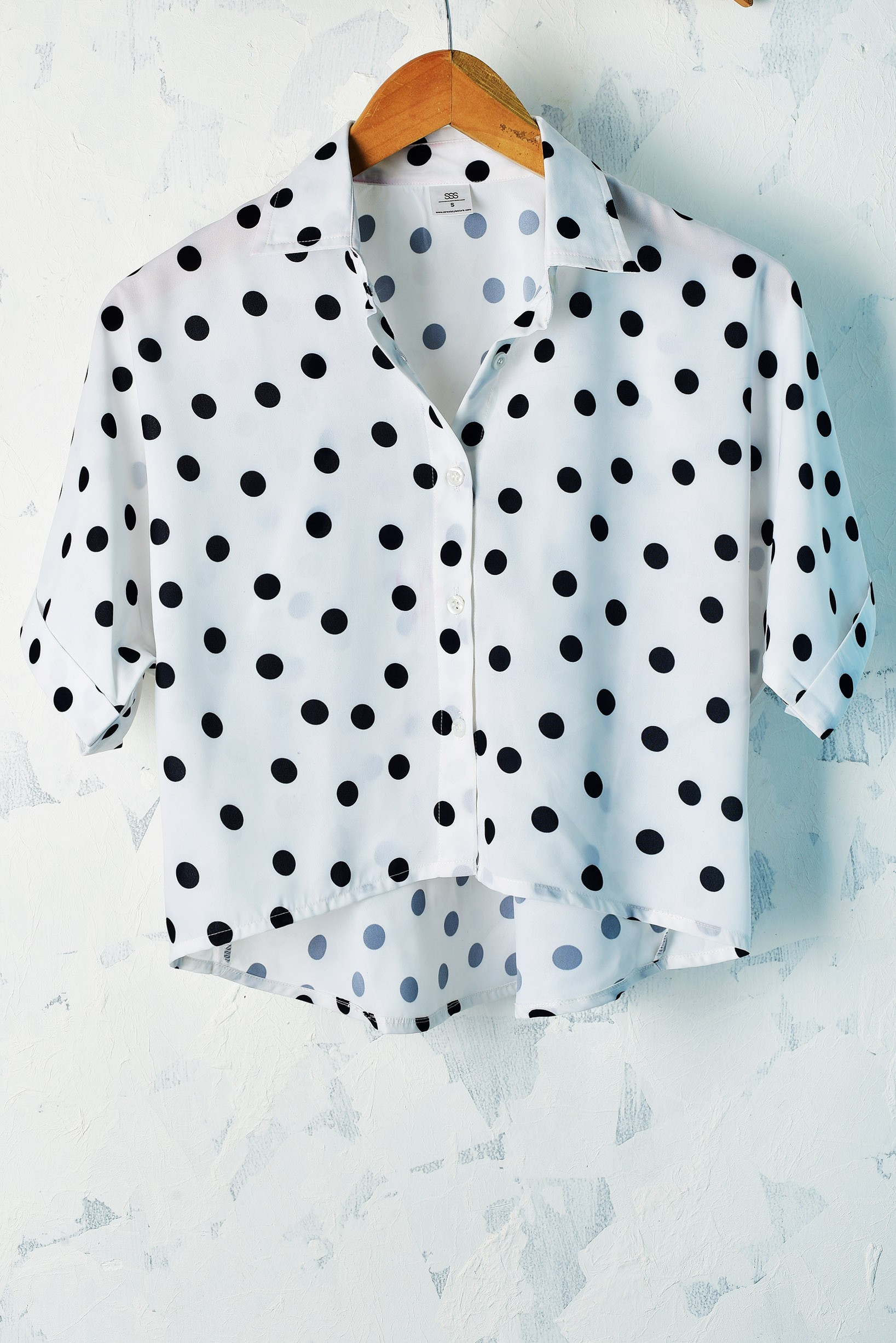 Polka affair shirt