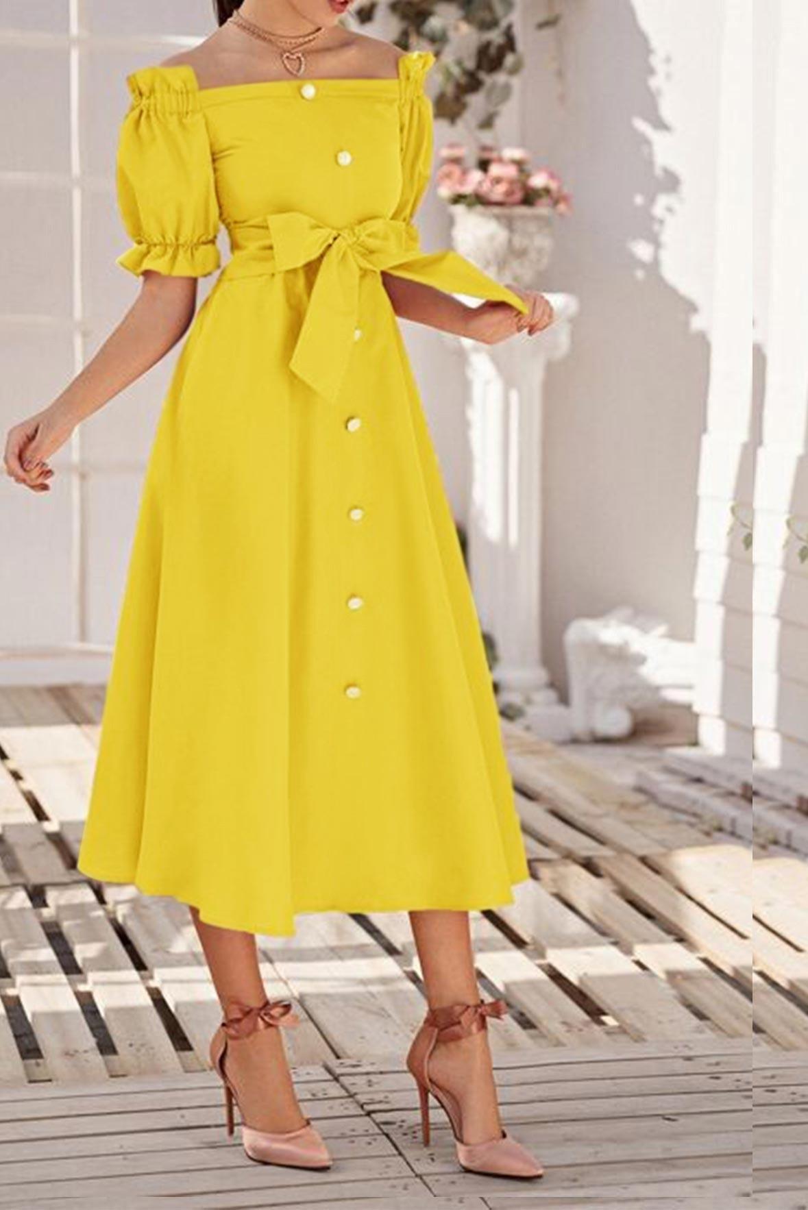 Mellow vibe dress