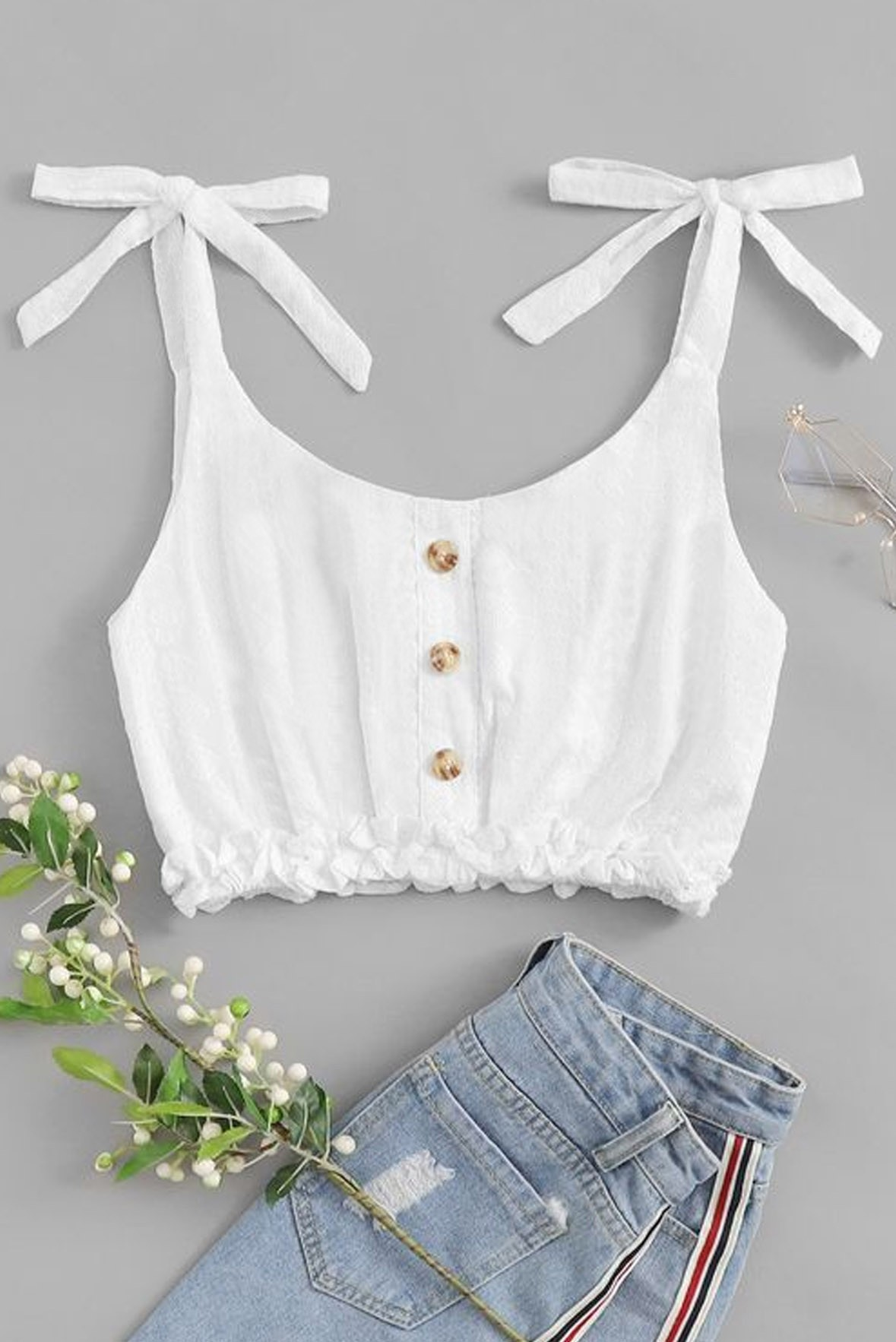 Knotted Cami Vest