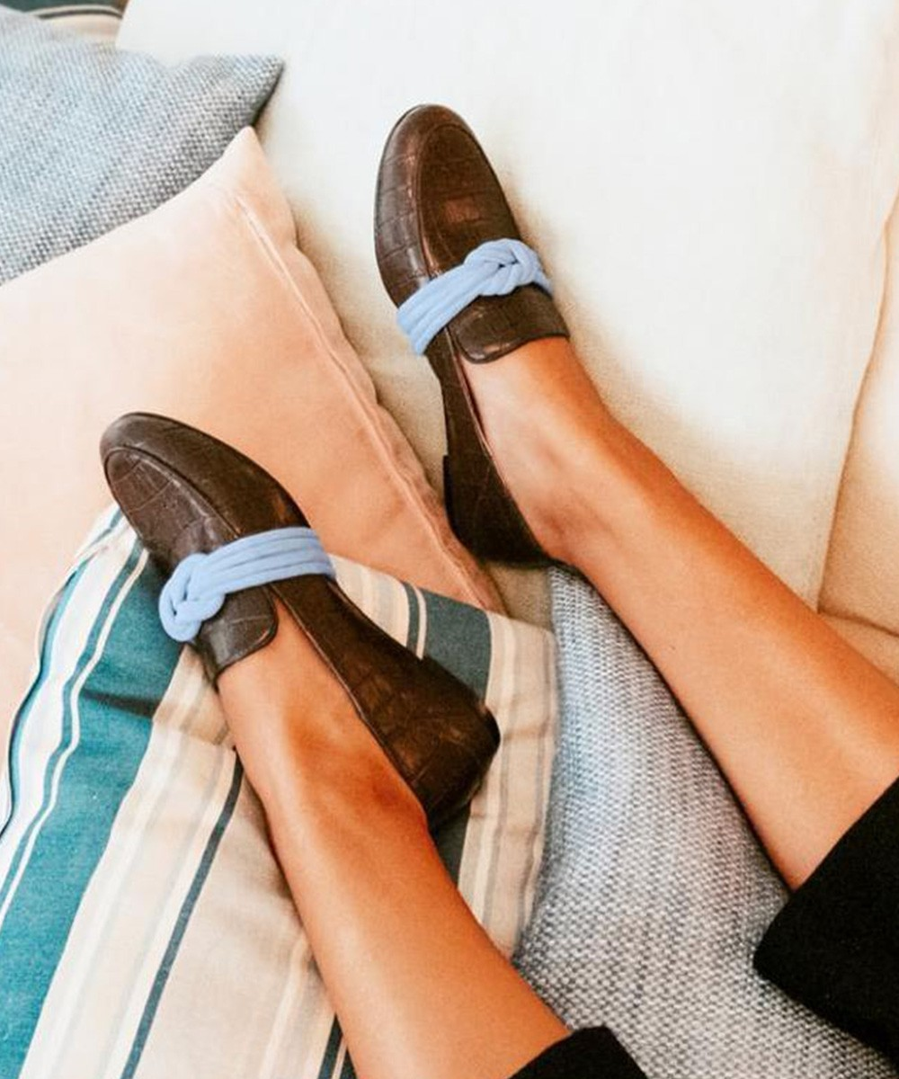Happy go merry coffee brown loafers