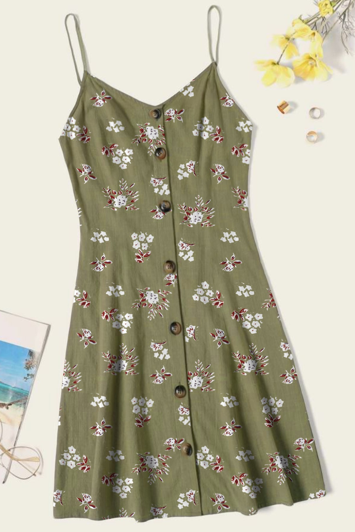 Delightful Floral Dress