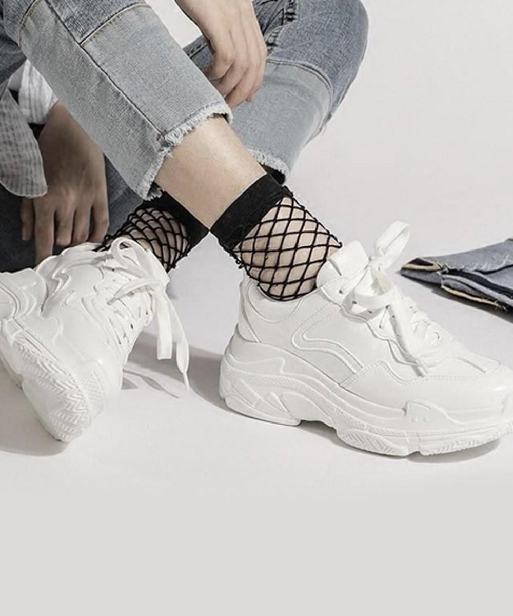 Beach Day Platform White Sneakers