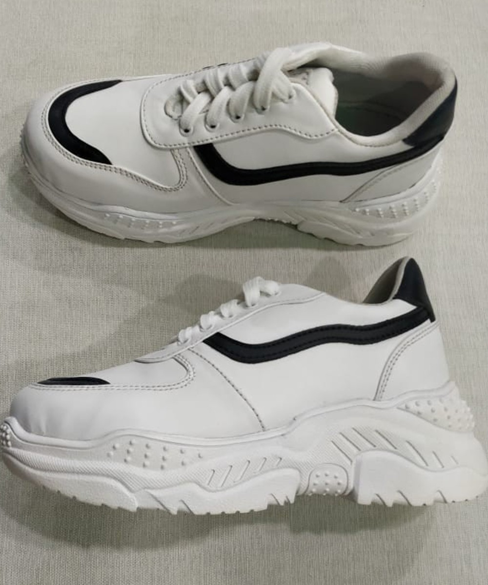 For my bff chunky white sneakers