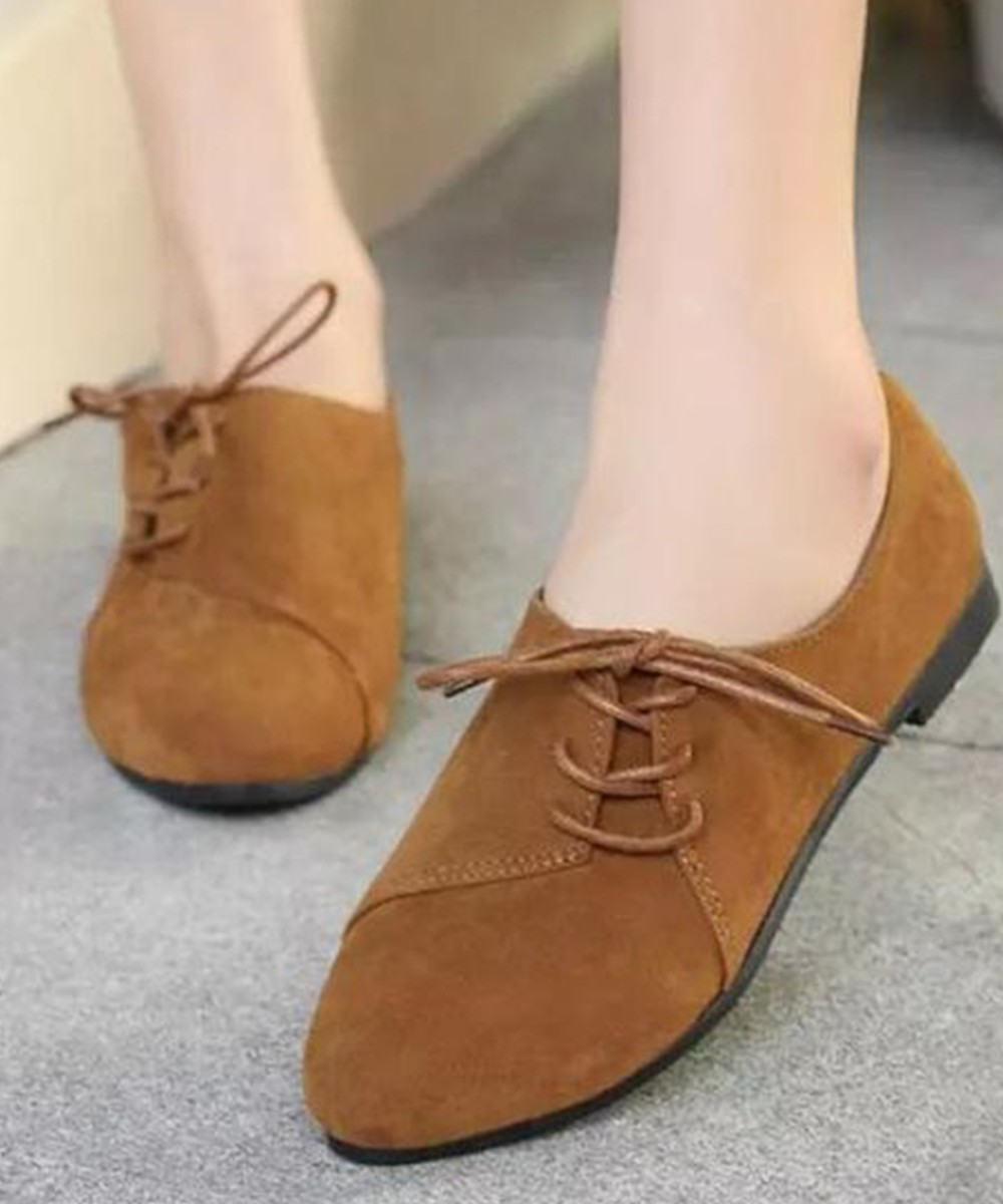 Vanila latte sup lace Brown shoes