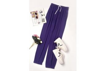 Purple Regular Jogger