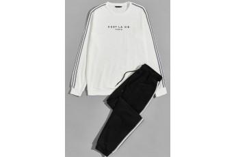 Set of 2: Such is life Sweatshirt & Sweatpants Set