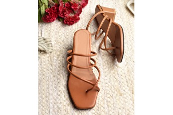 Love for rome brown heels