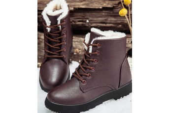Heading to norway fur detail boot