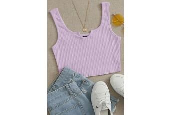 Simple Yet Pretty Lavender Top
