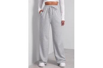 Warm winter grey fleece trouser