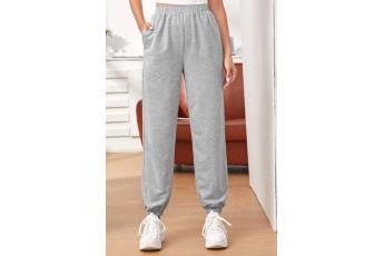 Pocket Solid grey trouser