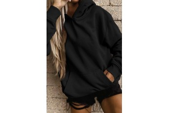 Over sized Black Hoodie