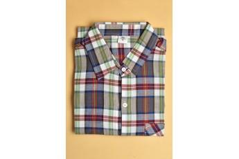 Multi colour Regular Plaid Men Shirt