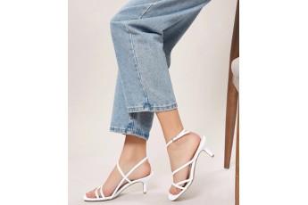 A magical evening white heels