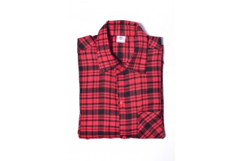 Men's Cotton Red Colour Casual Shirt