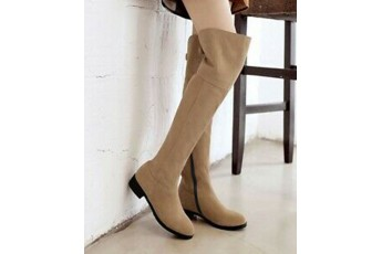 call it a stormy monday high knee boots