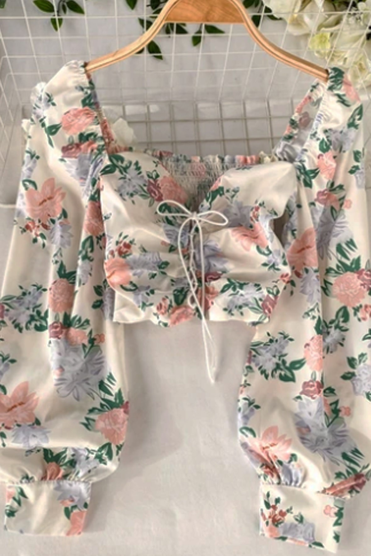 Retro Pleasant floral printed Top   Street Style Store