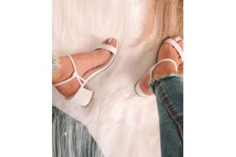 Jazz evening white heels