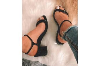 Midnight star black heels