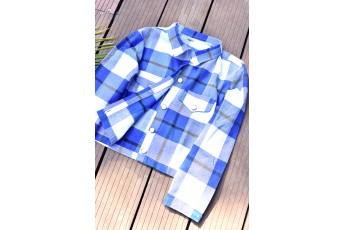 Designer Summer Coat Style Plaid Shirt