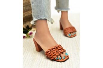 Dorm to desk brown heels