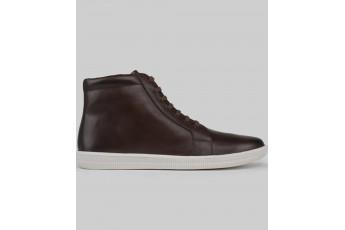 Travel geek casual brown sneakers