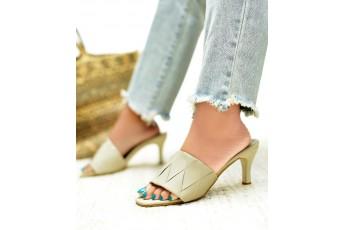 Notting hills love beige heels