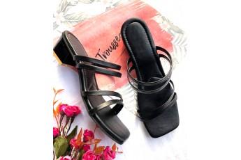 Do as I please black heel