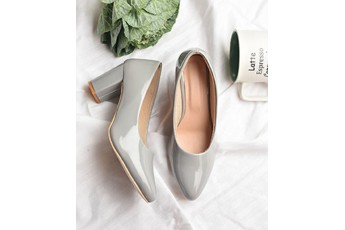 9 to 5 chic grey pumps