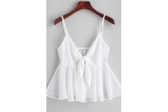 White color cute top
