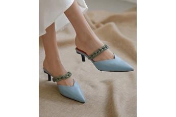 High street double tone heel
