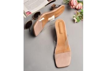 Millennial girl heels