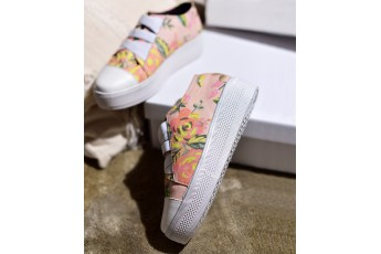 Sunny day today floral Sneakers