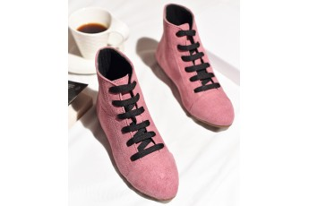 Pink hue casual day shoes