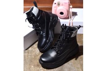 Central Park walk black sneakers