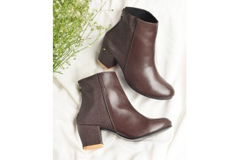 Marie brown ankle boot