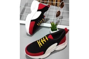 Love beyond color block sneakers