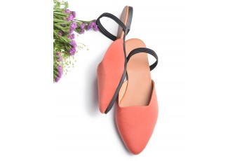 Living The Dream Flats (Peach)