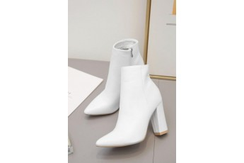 Style for self white boots