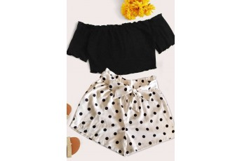 Polka Dot Summer Shorts