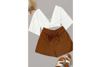 Brown colour shorts