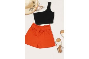 Orange Colour shorts