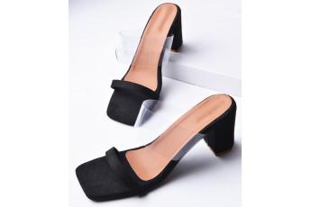 Breakfast in New York black classic heels