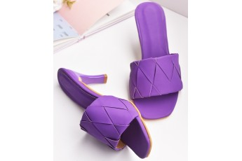 Lavender from Sault trendy heels