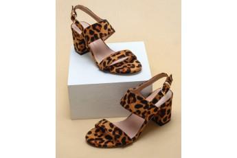 Let it be wild vibe slingback heels