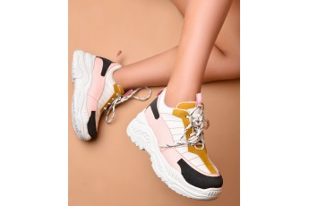 Give a glamz chunky sneakers