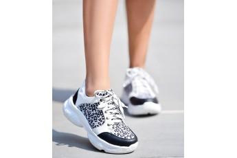 Animal printed Chunky Sneakers