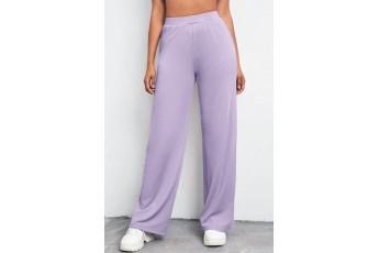 Lavender Rib Trouser