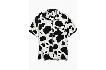 Men's Cow Print Shirt
