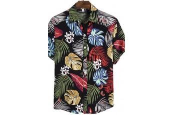 Men's Multi Color Tropical Printed Shirt